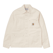 Carhartt Wip Wesley Jacket in Natural 8.5 oz Newcomb Drill cotton
