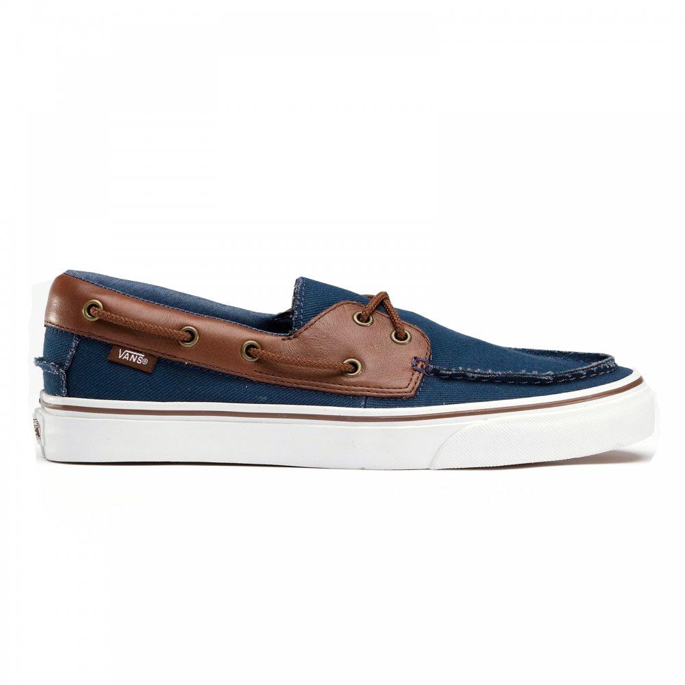 Justicia proteger Complejo  Vans Zapato Del Barco Dress Blues boat shoe - Vans from Resurrection UK