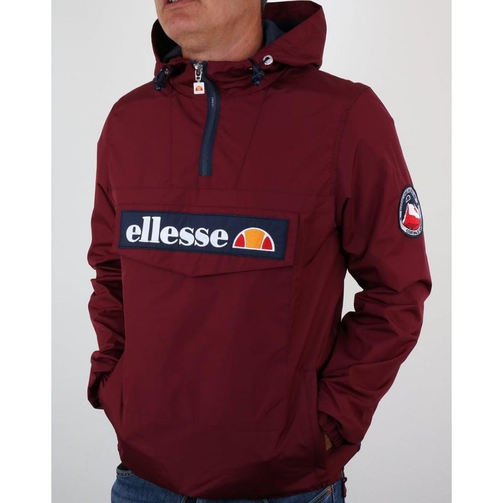 Buy Ellesse Mont 2 14 Zip Jacket Zinfandel