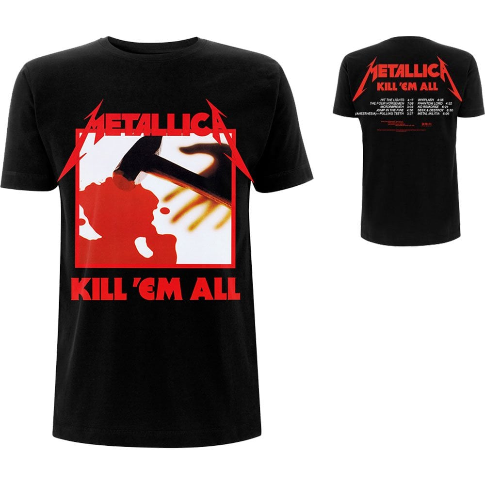 BRAND NEW METALLICA ROCK METAL T-SHIRTS IN BLACK FOR SALE !!!